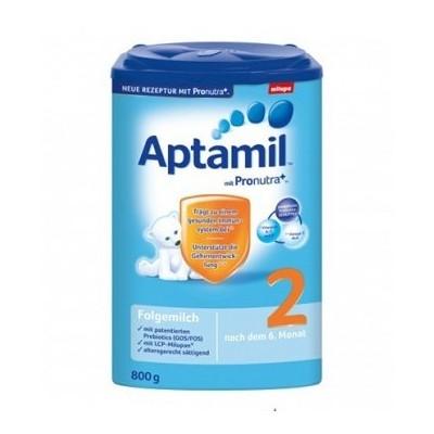 خریدشیرخشک آپتامیل 2 برای کودکان 6 تا 9 ماه