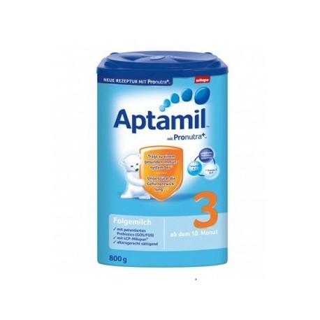خریدشیرخشک آپتامیل 3 برای کودکان 9 ماه به بالا