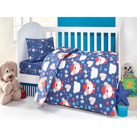 سرویس کاور لحاف نوزادی 3 تکه بریل طرح v1 457